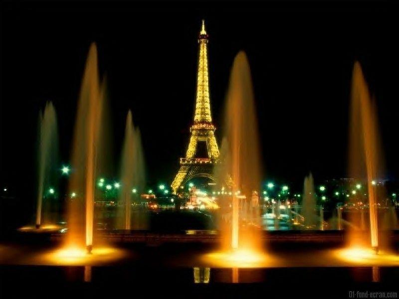 Fond D Ecran La Tour Eiffel