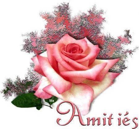 amitie avec des fleurs
